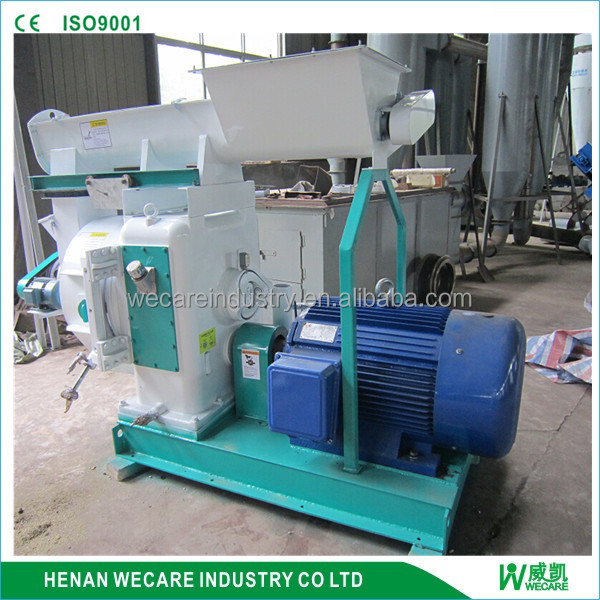 High productivity recycling pelletizing wood sawdust pellet making machine