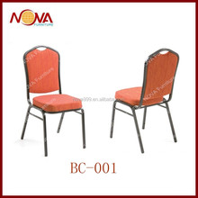 metal stackable used banquet chairs for sale