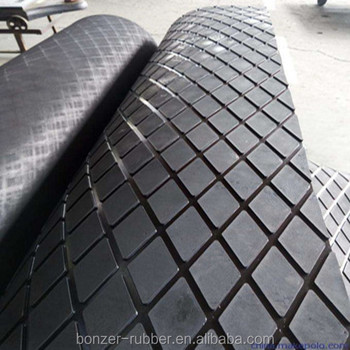 Non-slip Rhombus Rubber Sheet/Mat Manufacture In China