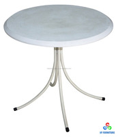 White round wood coffee table with four legs wholesale