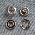 hollow cap prong ring snap buttons