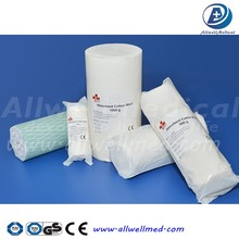 Absorbent cotton wool cotton roll 500g