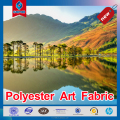 Hot selling Art photo canvas or polyester art fabric