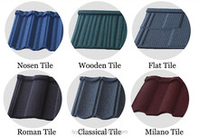 High qualiy steel roofing tiles from Jinhu in China