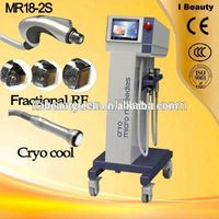 New product MR18-2S Microneedles fractional RF superficial fractional RF machine depth system CRYO PDT equipment