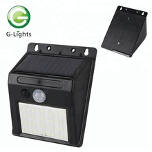 6W Solar Powered Outdoor LED Solar Sensor Wall Light
