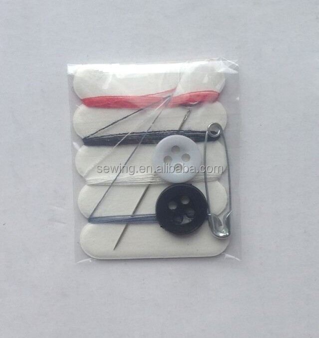 D&D sewing notions Professional Custom Hotel Use sewing accessories Disposable Mini Sewing Kit Wholesale
