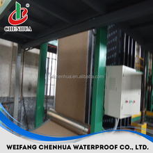 Automatic sbs/app bitumen Waterproof membrane production line manufacturer
