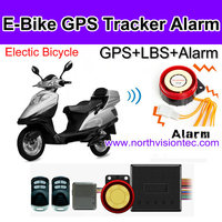 GSM gprs vehicle gps tracker supports real time tracking and Auto anti-theft system for any Electric bicycle