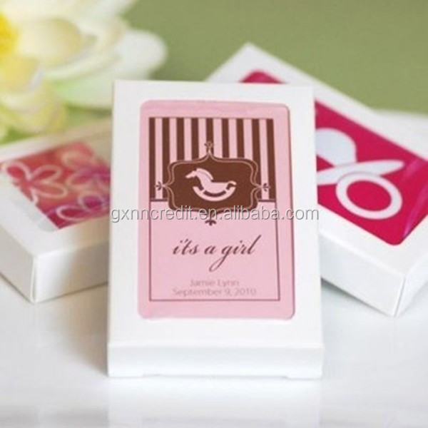 Hot sale High quality Boxed personalized charm custom playing cards for gift