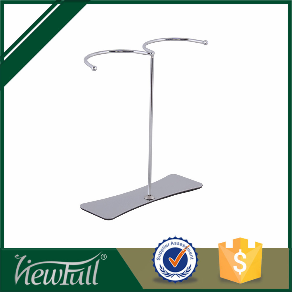 2015 stainless steel 700g foot boots display stand