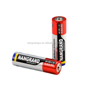 Low MOQ aa lr6 am3 alkaline battery with good quality