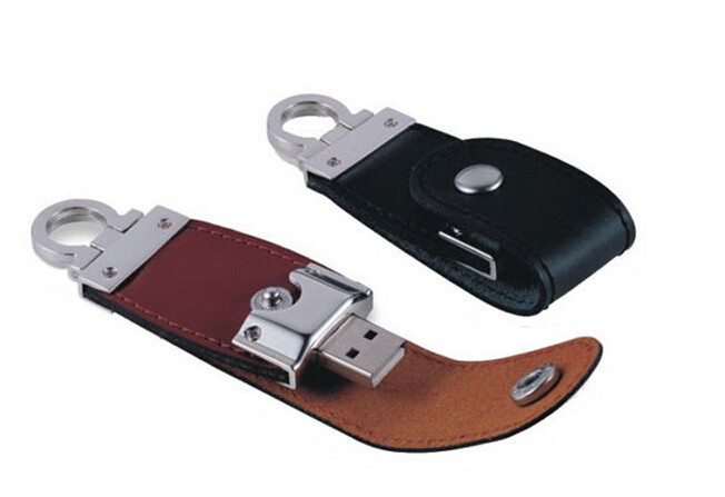 Free Shipping BNR Leather Usb Flash Drive <strong>Metal</strong> 8gb,16gb,32gb Pendive Pen Drive