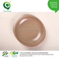Hot sale new products for Chrismas 2014 rice husk dinner set plates and dishes