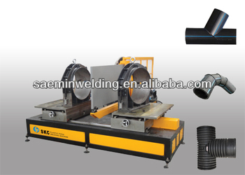 SKC-MA630 workshop welding tee pipe fusion machine for PP PE PVDF pipe