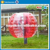 tpu inflatable bumper ball for sale walk in plastic body bubble soccer ball