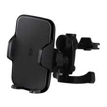 10w fast phone holder magnetic usb qi wireless car holder phone charger mount