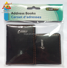PU leather cover pocket notebook