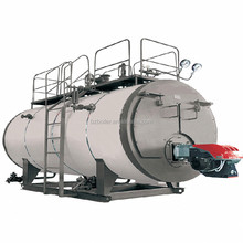 induction gas fired water boiler