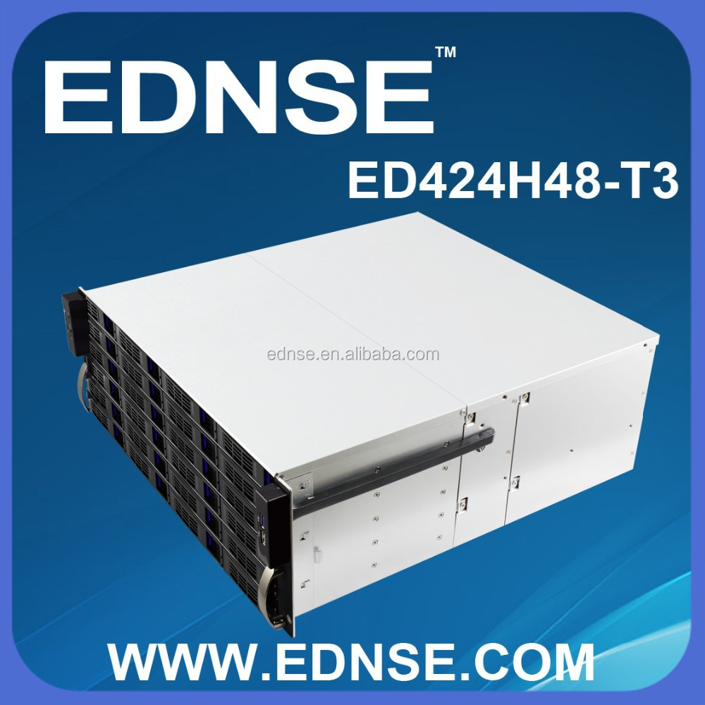 EDNSE 4u 24 bays NAS rack mount server computers case