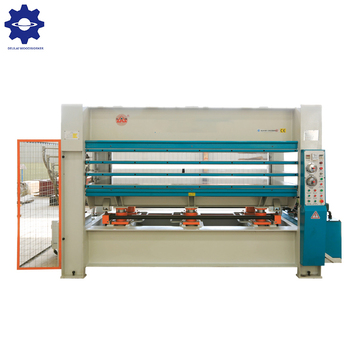 Direct Factory woodworking hydraulic hot press machine for wooden closet & kitchen & doors
