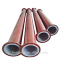 Excellent quality low price high performance steel and rubber lined pipe