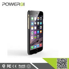 power qi wireless charger cell phone case qi wireless reicever case for iPhone 6