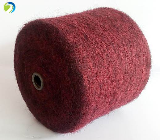 hot sale wool mohair 30% acrylic 30% nylon 24% wool 16% mohair blended knitting yarn