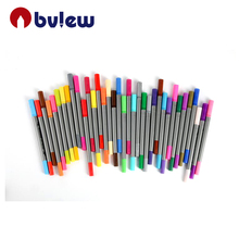 Dual Brush Children Stationery 100 Colors Drawing Needle Fineliner Art Marker