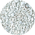 WHITE EPDM RUBBER GRANULES FOR PLAYGROUNDS