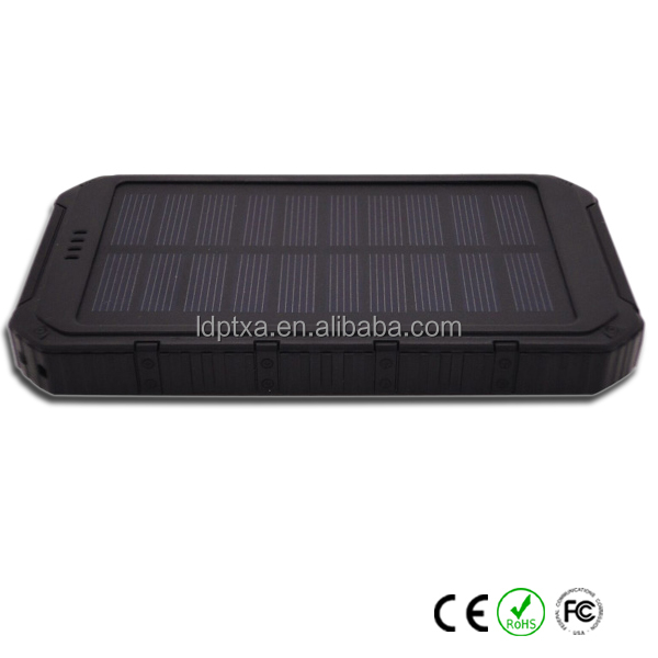 Window Portable solar panel charger For Cell Phone Tablet Universal Mobile power bank 2400mAh