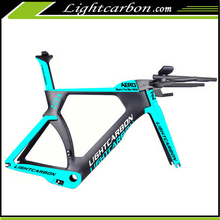 2017 LightCarbon Latest design full carbon fiber road bike frame time trial tt bike frame 2016 LCTT004