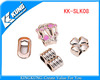 Various design plastic shoes buckles for lady shoes