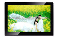 plastic shell portable supermarket Auto play 18.5 inch usb video music player for advertising / wedding