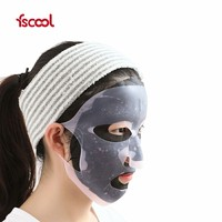 New Silicone Reusable Beauty Facial Mask Sheet Washable Face Mask