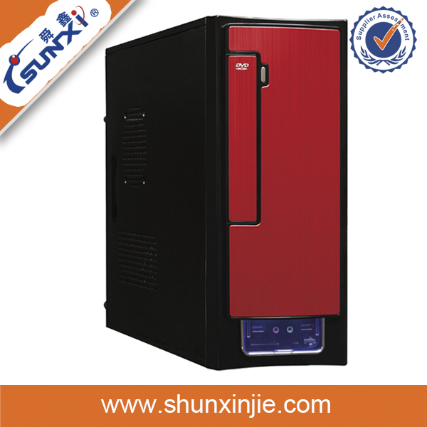 hot sale cool design mid tower server case with mini itx chassis 9809