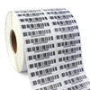 barcode label rolls self-adhesive printing Ribbon transfer label glossy or matte stickers