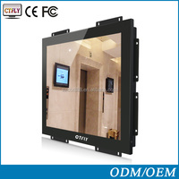 China OEM 15 inch open frame touch moniotr