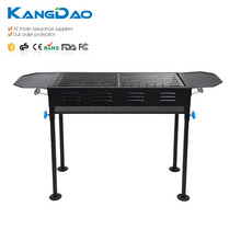 Outdoor camping easy portable folding charcoal bbq grill stand