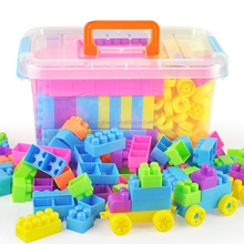 Plastic Children Building Blocks Educational Toys Non - toxic Environmental Protection Toy Brick