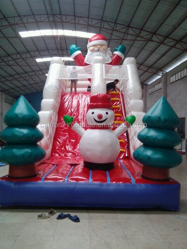 2016 Newest PVC tarpualin Inflatable Water Slides for Christmas day