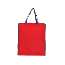 direct buy china silk prining promotional handle non-woven bag