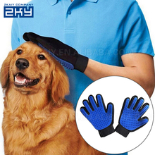 2-in-1 Pet Glove Grooming Massage Tool,Pet Dog and Cat Grooming Glove Brush,Gloves for Pet Washing Hair Remover