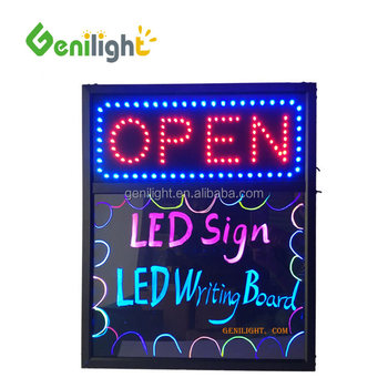 2018 New !!! led sign and writing board with top quality fashion