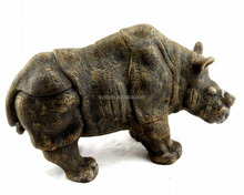 Rhino shaped candle,Animal shaped candle,Carving candle