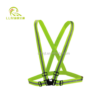 Factory outlet LED luminous reflective vest safety