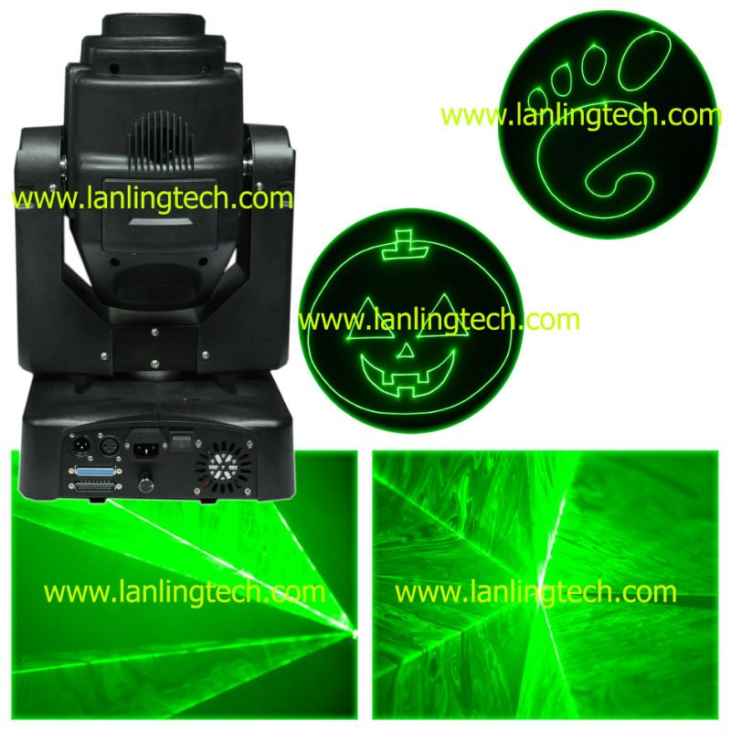 Green Animation Laser Light/DJ Mixers/stage dj lighting
