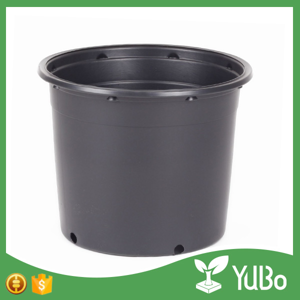 Huge discount black plastic plant fruit tree pot, garden gallon flower pot for planting