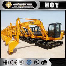 China mini digger Excavator parts of air conditioner,excavator rake/cabs/swing motor/teeth/ track adjuster