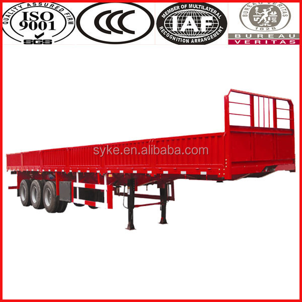 3 axle 50Tons 40ft gooseneck container trailer with twist locks for sale